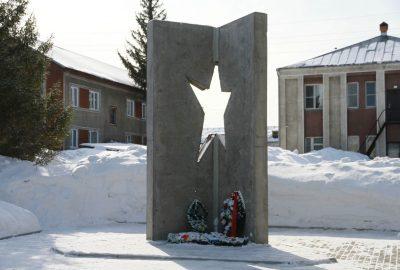 В Троицком продолжается реконструкция мемориального комплекса «Защитникам Отечества»