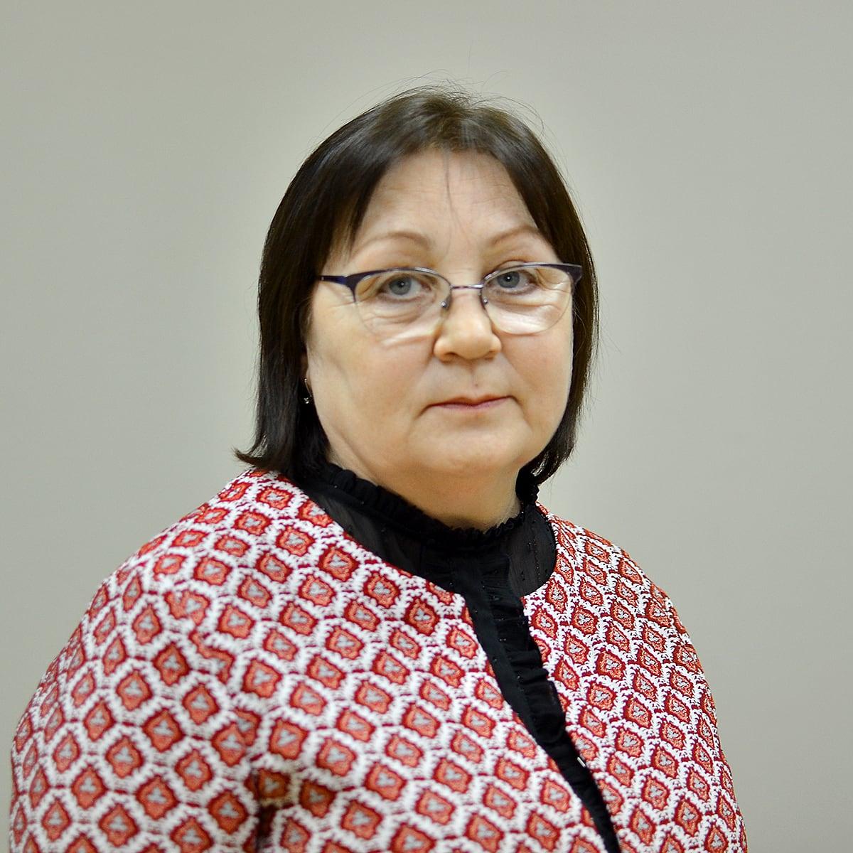 Параева Людмила Афанасьевна