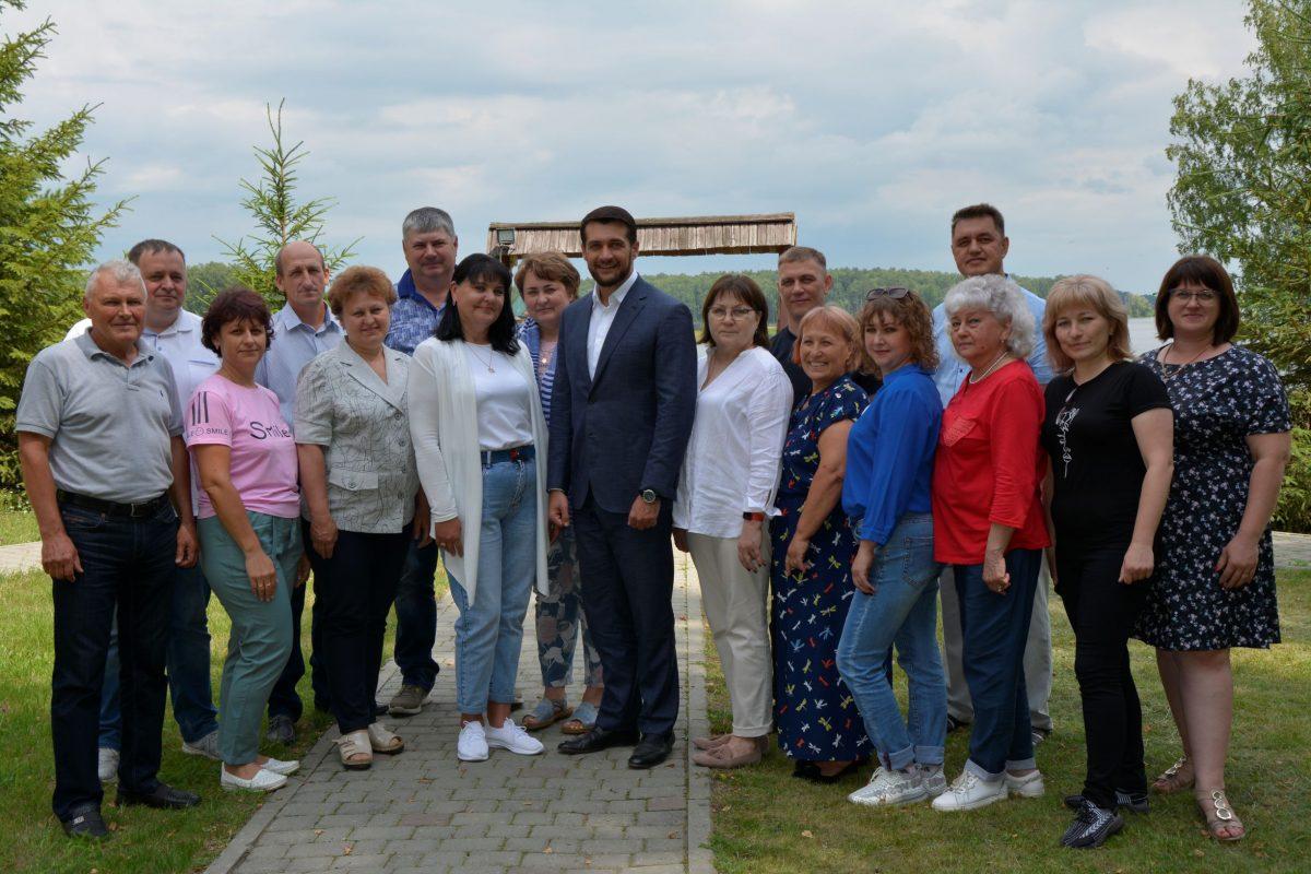Состоялась встреча членов двух составов попечительского Совета фонда